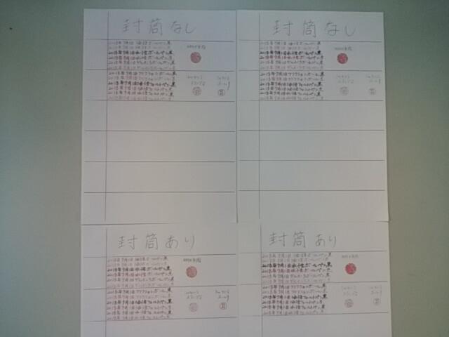 2018.07.01筆跡試料の作成