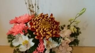 2019年お正月の生け花