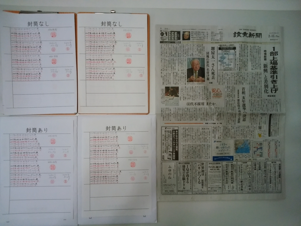 2019.2.11筆跡試料の作成