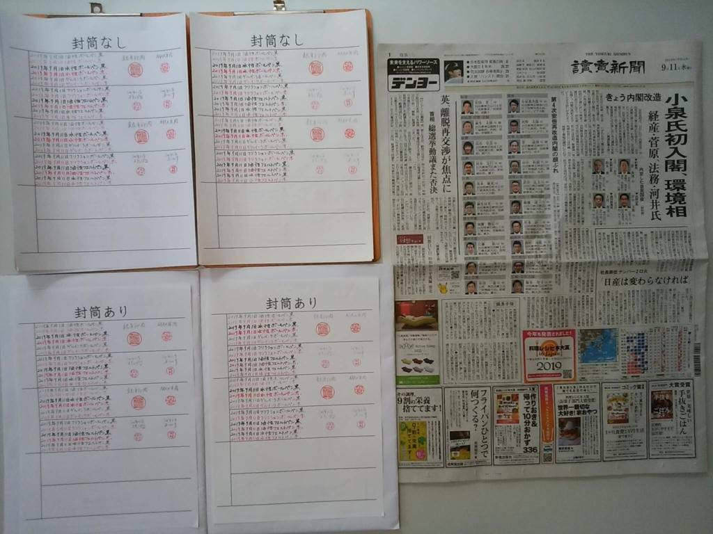 筆跡鑑定の観察用試料の作成2019年9月11日