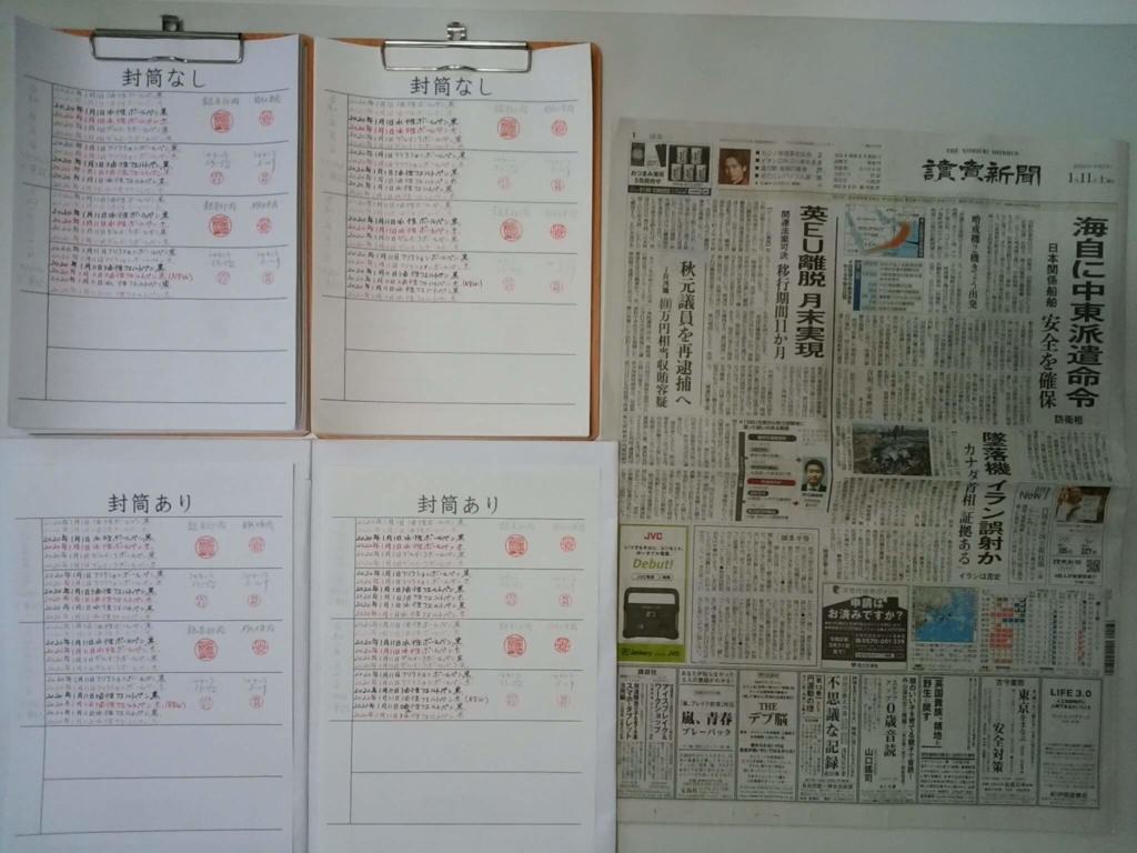 2020年1月11日 筆跡鑑定の研究用試料の作成