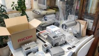 赤外線撮影用機材-田村鑑定調査2020