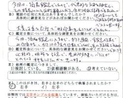 2015/11/23 東京都T.Y様